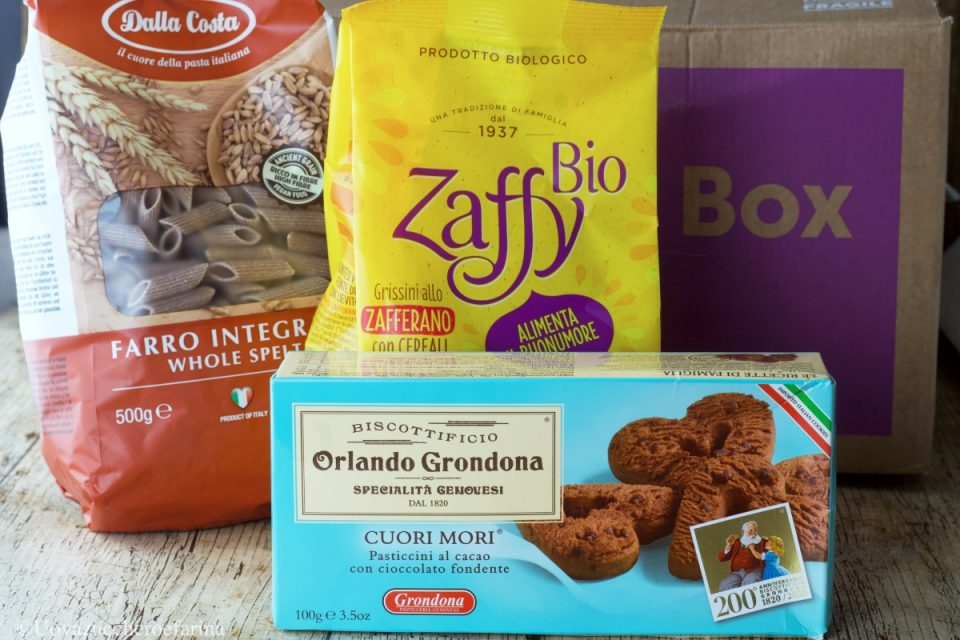Degustabox selection 2020 zaffy grondona dalla costa